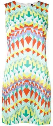 M Missoni geometric print mini dress