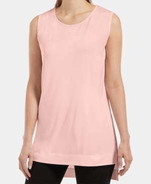 Hue Sleeveless High-Low Tunic