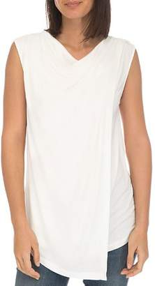 Bobeau B Collection by Nevaeh Cowl Overlay Tank