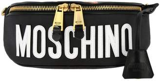 Moschino Belt Bag Belt Bag In Synthetic Leather With Gladiator Teddy Print