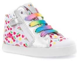Geox Kilwi Patterned High Top Sneaker