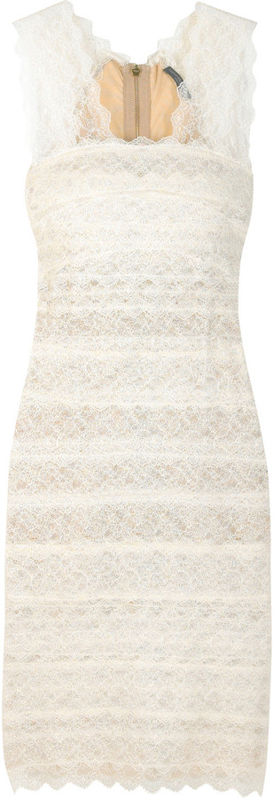 Alexander McQueen Stretch lace bandage dress