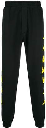 Kappa PAURA X side logo band track pants
