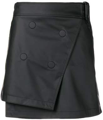 Paco Rabanne mini wrap skirt