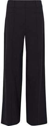 Diane von Furstenberg Stretch-Wool Wide-Leg Pants