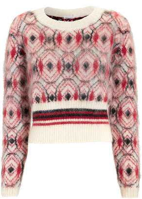 Tomas Maier Mohair Cropped Sweater