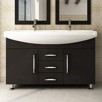 "Celine JWH Living 48"" Double Bathroom Vanity Set Base"