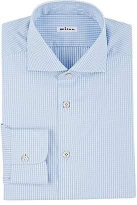 Kiton Men's Gingham Shirt