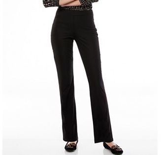 Women's Dana Buchman Slimming Pull-On Pants $48 thestylecure.com