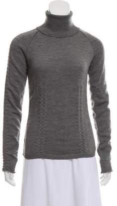 Miu Miu Long Sleeve Turtleneck Sweater
