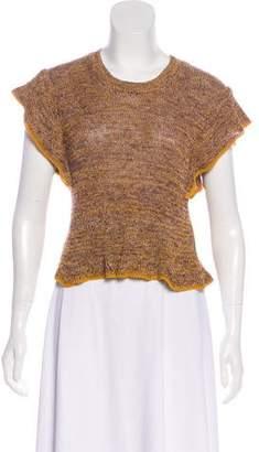 Etoile Isabel Marant Linen-Blend Knit Top