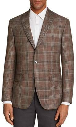 Jack Victor Large Plaid Regular Fit Sport Coat