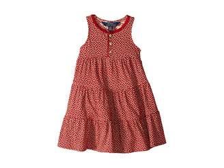 Polo Ralph Lauren Floral Cotton Jersey Dress (Toddler)