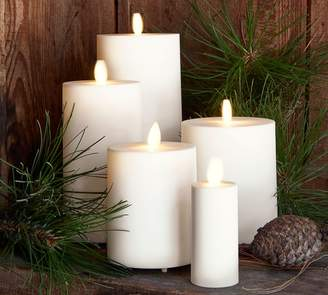 Pottery Barn Premium Flicker Flameless Outdoor Candle
