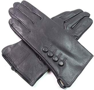 EMPORIUM LEATHER The Leather Emporium Women's Gloves Fur Lined Winter Warm