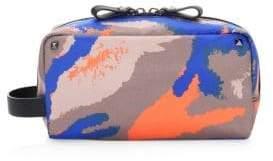 Valentino Camouart Wash Bag