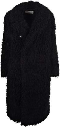 Saint Laurent Faux-shearling Coat