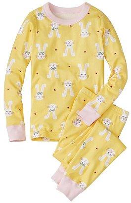 Kids Long John Pajamas In Organic Cotton $44 thestylecure.com