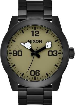 Nixon x Disney Corporal Mickey Arms Bracelet Watch, 48mm