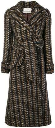 Goat Gladstone tweed coat