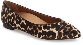 Women's Vionic 'Caballo' Pointy Toe Flat $119.95 thestylecure.com