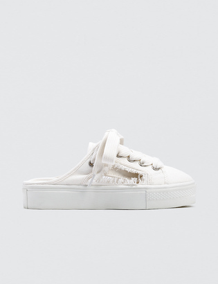 SJYP Cut Off Mule Sneakers $210 thestylecure.com