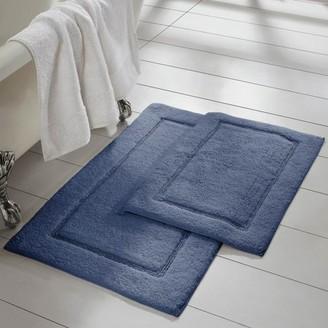 Pacific Coast Textiles 2 Pack Non-Slip Bath Mat