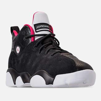 Nike Girls' Preschool Jordan Jumpman Team II Basketball Shoes