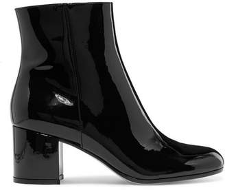 Gianvito Rossi Margaux 65 Patent-leather Ankle Boots - Black