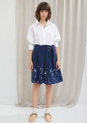 Acne Studios Paint Denim Skirt