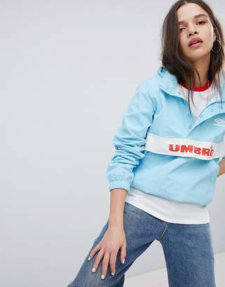 Umbro Retro Sporty Half Zip Front Tracksuit Jacket