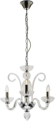 Isabella Collection Mercator 3-Light Chandelier