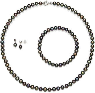 FINE JEWELRY Dyed Cultured Freshwater Pearl Sterling Silver 3-pc. Jewelry Set