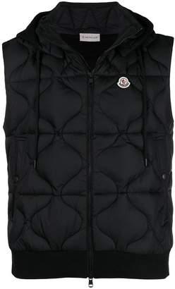 Moncler sleeveless padded jacket