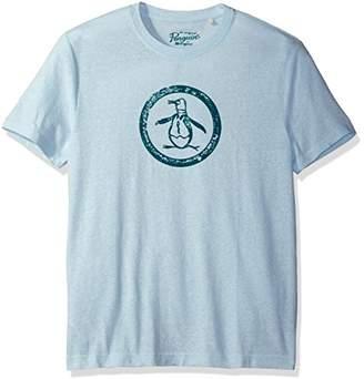 Original Penguin Men's Triblend Circle Logo T-Shirt