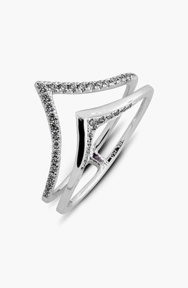 Women's Bony Levy Prism Chevron Diamond Ring (Limited Edition) (Nordstrom Exclusive) $975 thestylecure.com