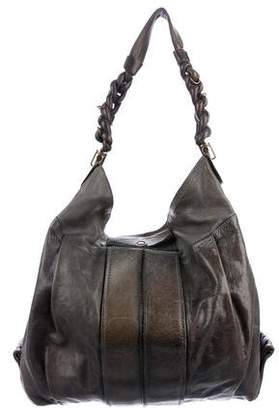 6fc76f9e0a94 Blue Leather Hobo - ShopStyle