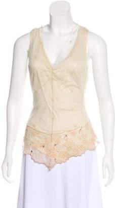Rozae Nichols Knit Sleeveless Top