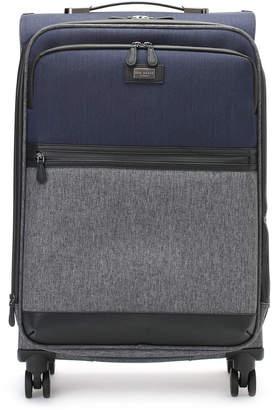 Ted Baker バイカラー スーツケース M グレーマルチ
