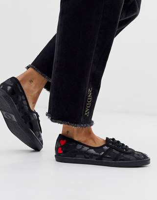 Fred Perry X Amy Winehouse Foundation leopard aubrey trainer