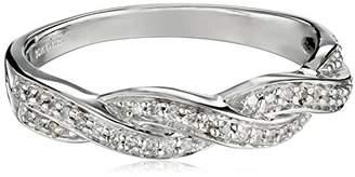 10K Gold Diamond Band Ring (1/10 cttw)