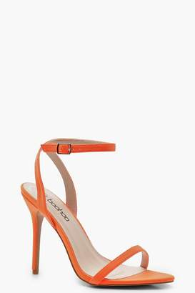 boohoo Pointed Toe Two Part Heels