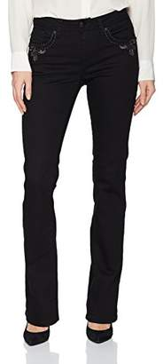 Grace in LA Women's Easy Fit Bootcut Jeans