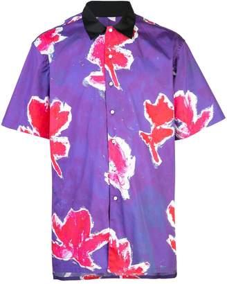 Prabal Gurung floral short sleeve shirt