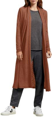 Michael Stars Candice Shawl Neck Long Cardigan