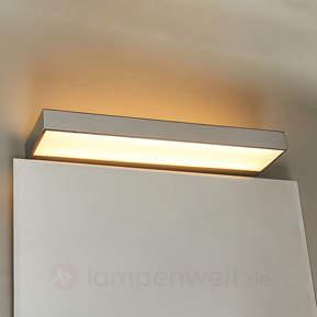 Schöne LED-Chrom-Badwandlampe Rubena
