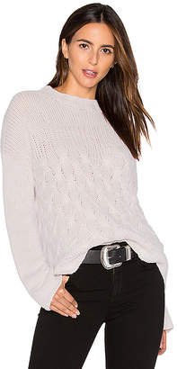 Inhabit Mix Stitch Sweater in Light Gray $517 thestylecure.com