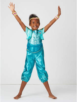 George Shimmer and Shine Fancy Dress Costume