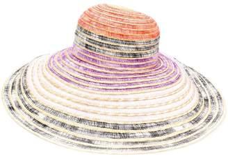 Missoni Mare colour block sun hat