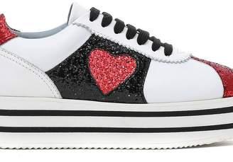 Chiara Ferragni Glitter Platform Sneakers